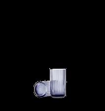 Vase Munnblåst Glass Midninght Blue 12,5cm
