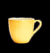 Organic kaffemugg Gul 60 cl