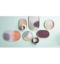 Gallery Keramik Assiette Rosa/Gul