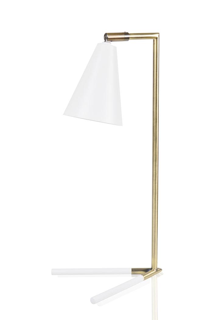 Vega Bordlampe Hvit