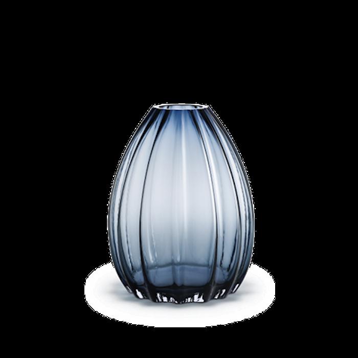 2Lips Vase, blå, H 34 cm