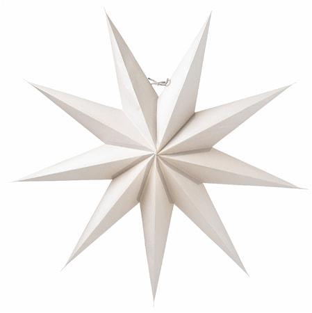 Boris Julstjärna Ljusgrå 70 cm