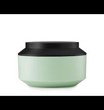 Geo Jar with Lid Mint / Black Ø 15 cm