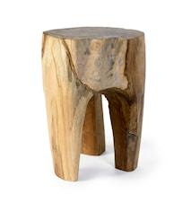 Raw Baumstamm-Hocker aus Holz