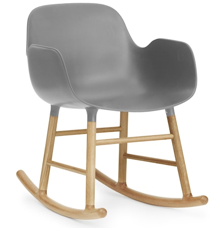 Form rocking chair karmstol ek