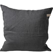 Federa in lino 50 x 50 - grigio scuro