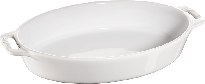 Form Oval Keramik Vit 29 cm 2,3 L