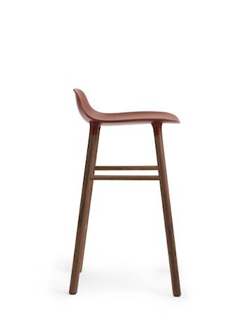 Form Barstol Valnötsben 65 cm
