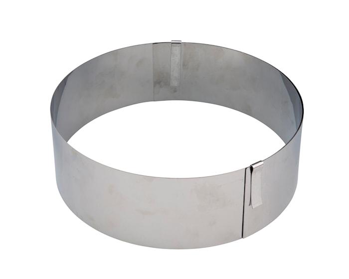 Rengasmuotti säädettävä Ø 15–31 cm terästä