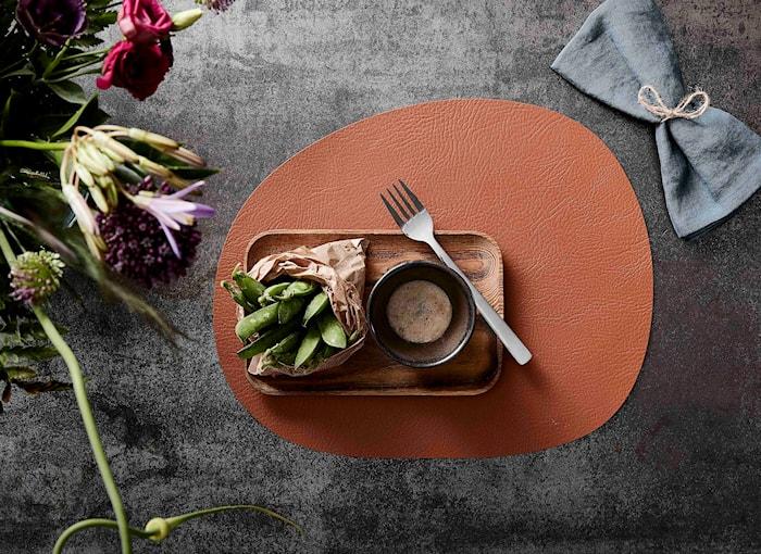 Raw Buffalo Pöytätabletti Cinnamon Brown 41x33,5 cm