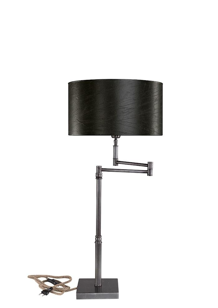 Pewter Swing Bordslampa Järn Exklusive Lampskärm