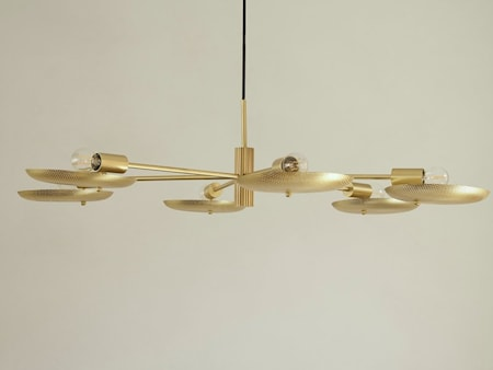 Papillion Lampe Perforert