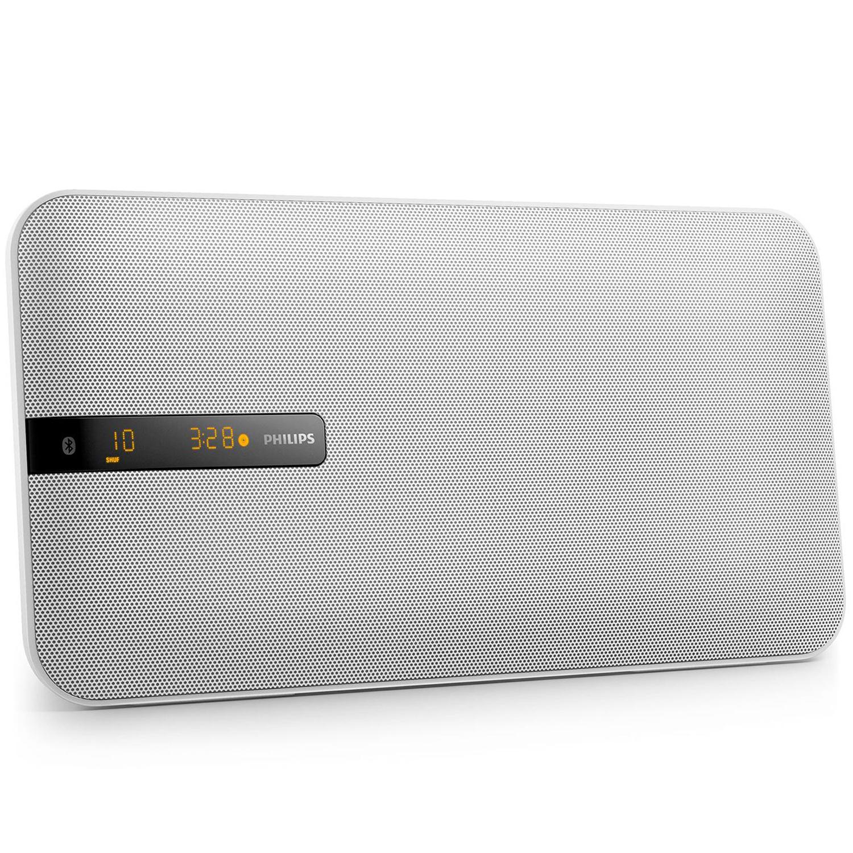 Musik-system Bluetooth 20W Vit