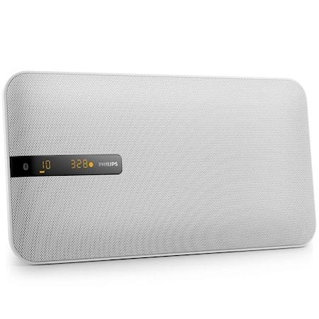 Musiikkijärjestelmä Bluetooth 20W Valkoinen