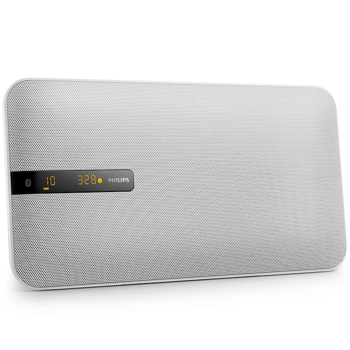 Musik-system Bluetooth 20W Hvid
