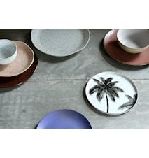 Keramikteller Braun