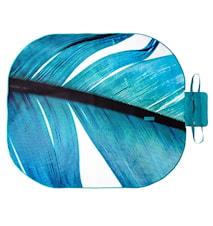 Picknickplaid Oval Feather