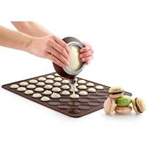 Macaron-leivontasetti