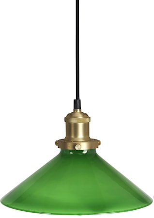 August Fönsterlampa Grön 25cm