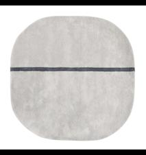 Oona Teppe Grå 140x140 cm