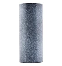 Vase Effect Ø 10x24 cm - Svart/Hvit