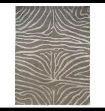 Zebra Tæppe Beige/Hvid 200x300 cm