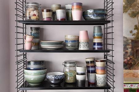 70's Keramik Mugg Rosa
