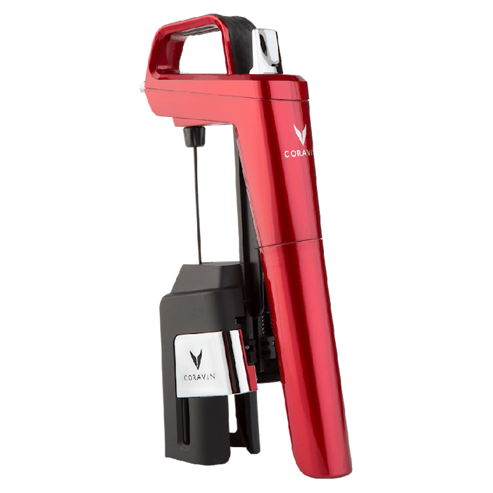 Coravin Model Six Candy Apple Red Vinsystem