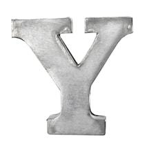 Bokstav Y 5,5 cm - Zinc
