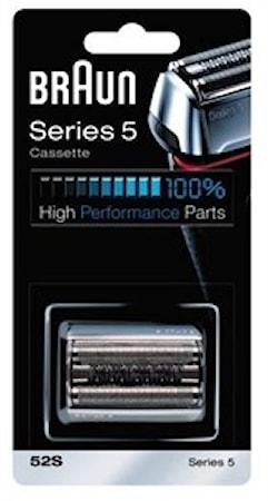 Braun Series 5 barberblad + saksehoved 52S Silver