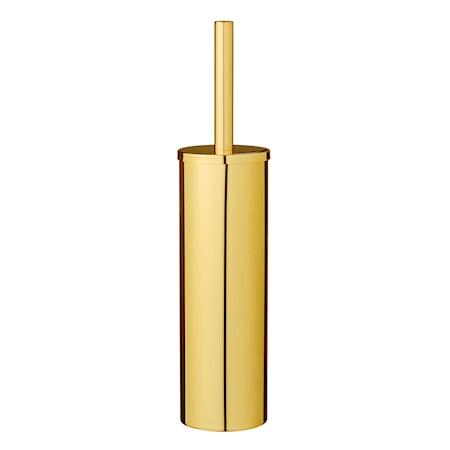 Toiletbørste Guld Metal 9x40cm