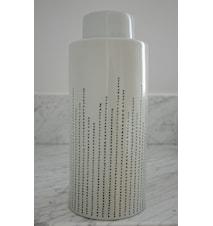 Dribble keramikburk – Celadon, large