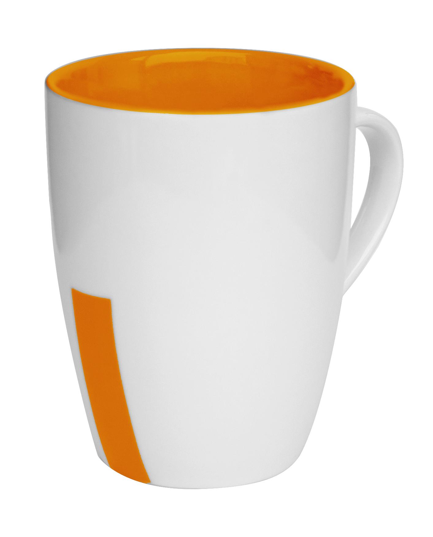 Mugg Rand orange