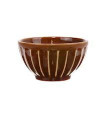 Kyoto Skål Keramikk Brun 27,5 cl