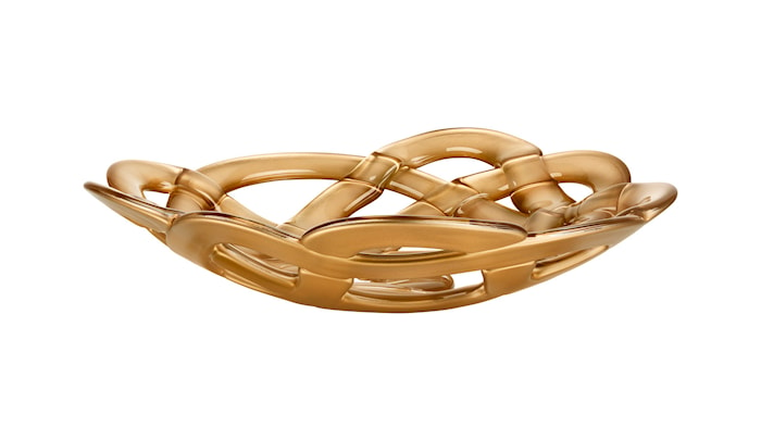 Basket Gull Skål Ø 38,5 cm