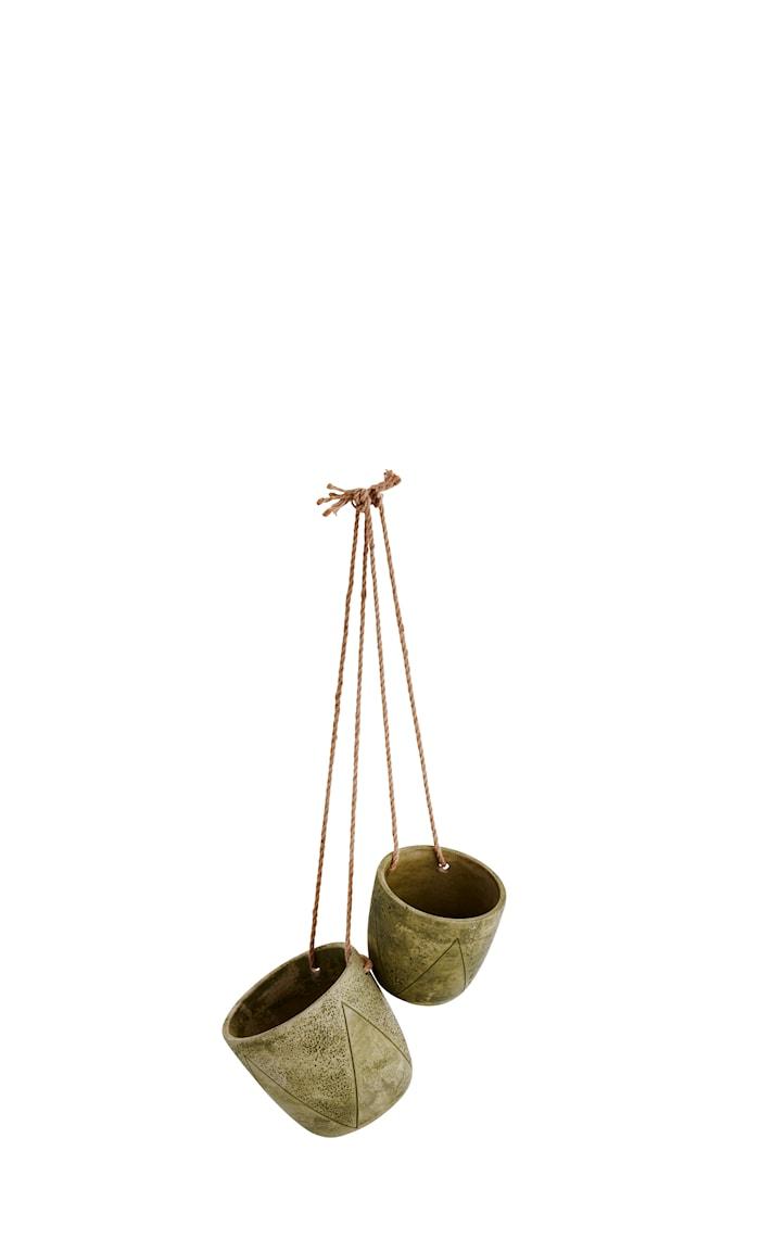 Blomkruka Hängande Ø 17cm Grön