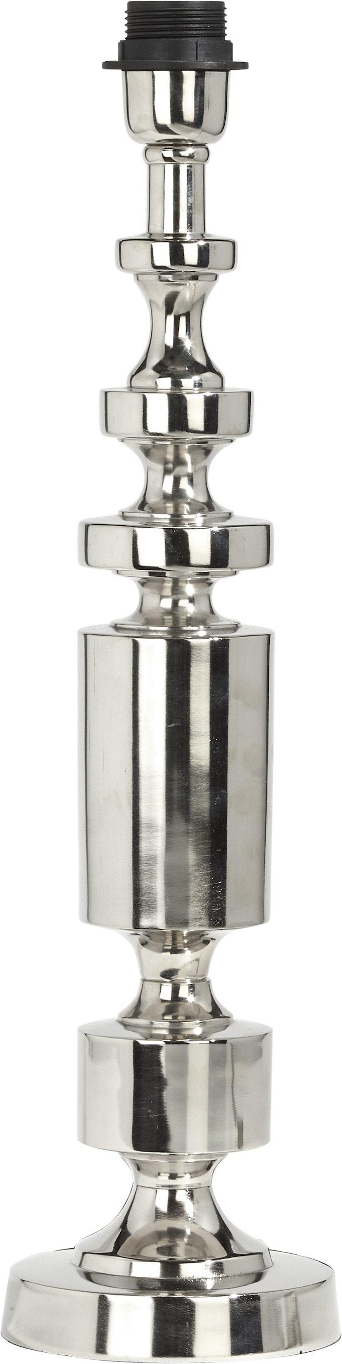 Art Deco Lampefot Krom 51cm