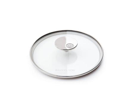M'360 Glaslåg Ø16cm glas/stål