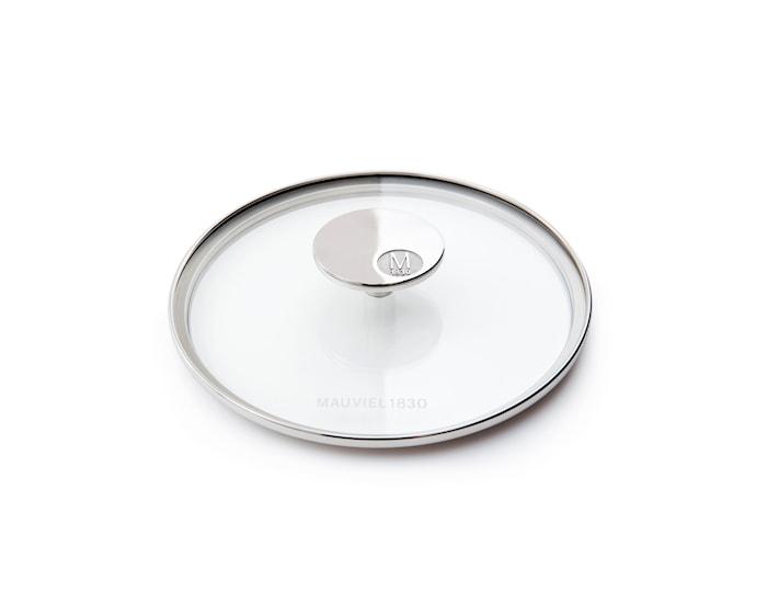 M'360 Glasslokk Ø16cm glass/stål