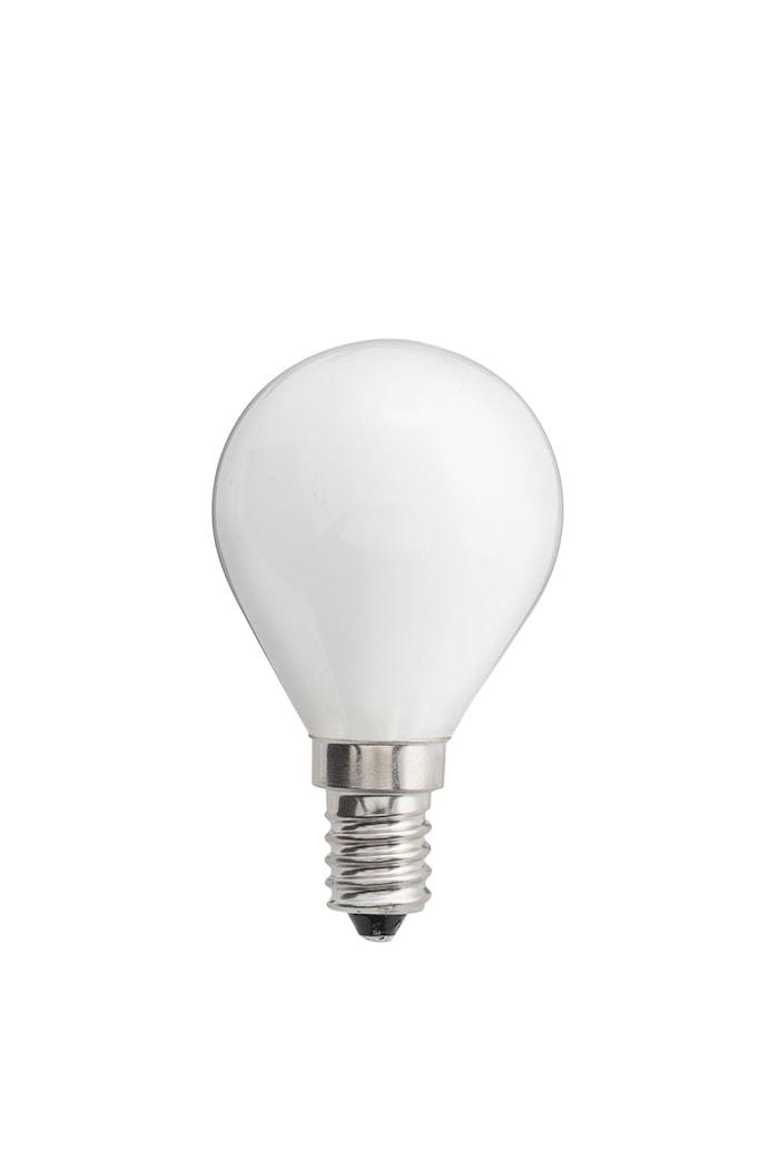 Ljuskälla LED Opal Klot E14