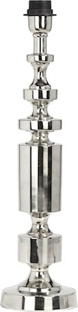 Art Deco Lampfot Krom 59cm