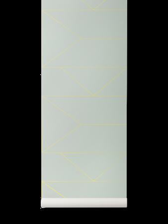 Lines Tapet Mint