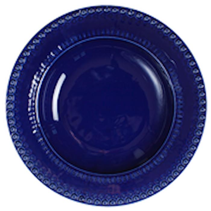DAISY Djup tallrik/Pastaskål Mörkblå 35 cm