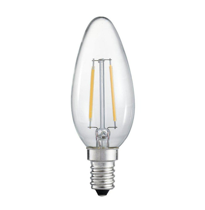 Vintage LED Filament Kron Clear 45mm