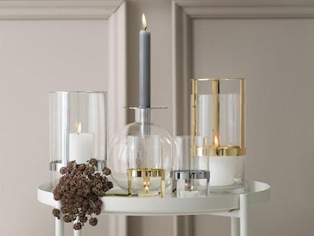 Topp Vase Medium Sølv
