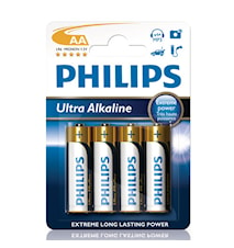Fashion Ultra Alkaline AA 4-pack