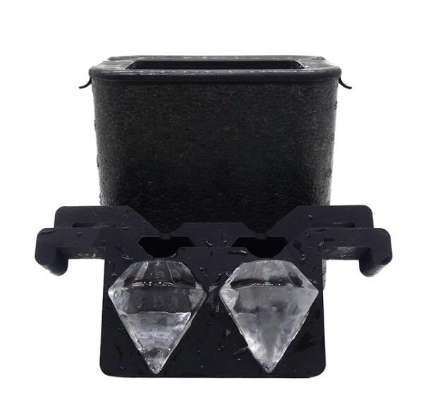 Form för kristallklar is – Diamanter