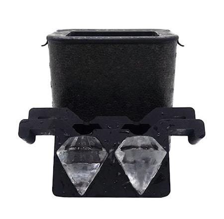 Form för kristallklar is - Diamanter