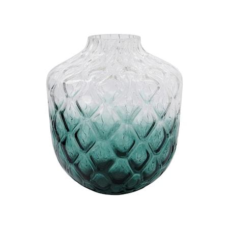 Vas Art Deco Grön