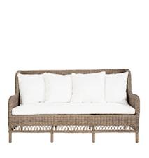 Estelle 3-sits soffa exklusive dyna
